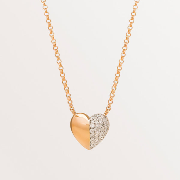 VALENTINE NECKLACE IN DIAMONDS