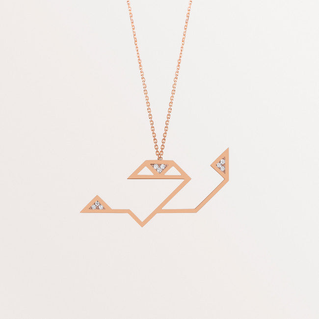 CLASSIC LETTER NECKLACE THA