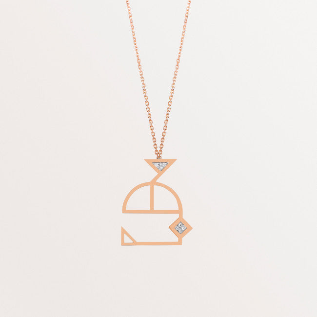 CLASSIC LETTER NECKLACE THL