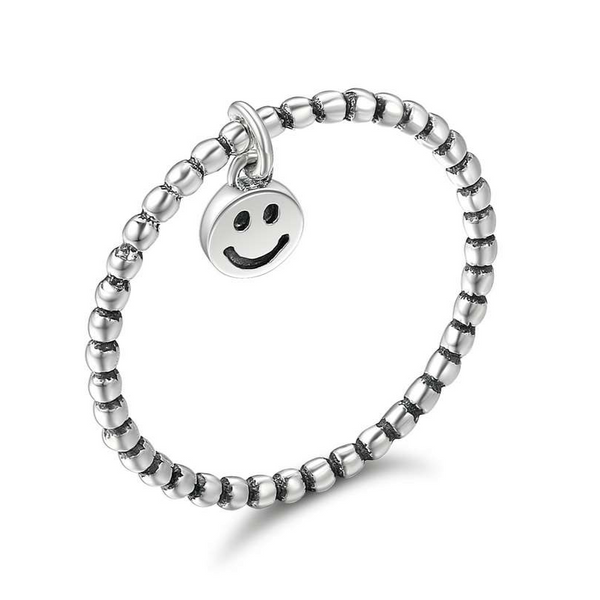 "Anello ""Smiley"" ~ Argento Sterling"