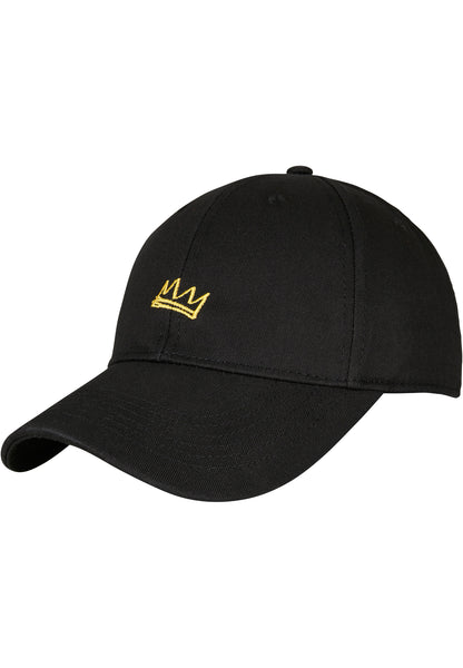 Rough Crown Curved Cap