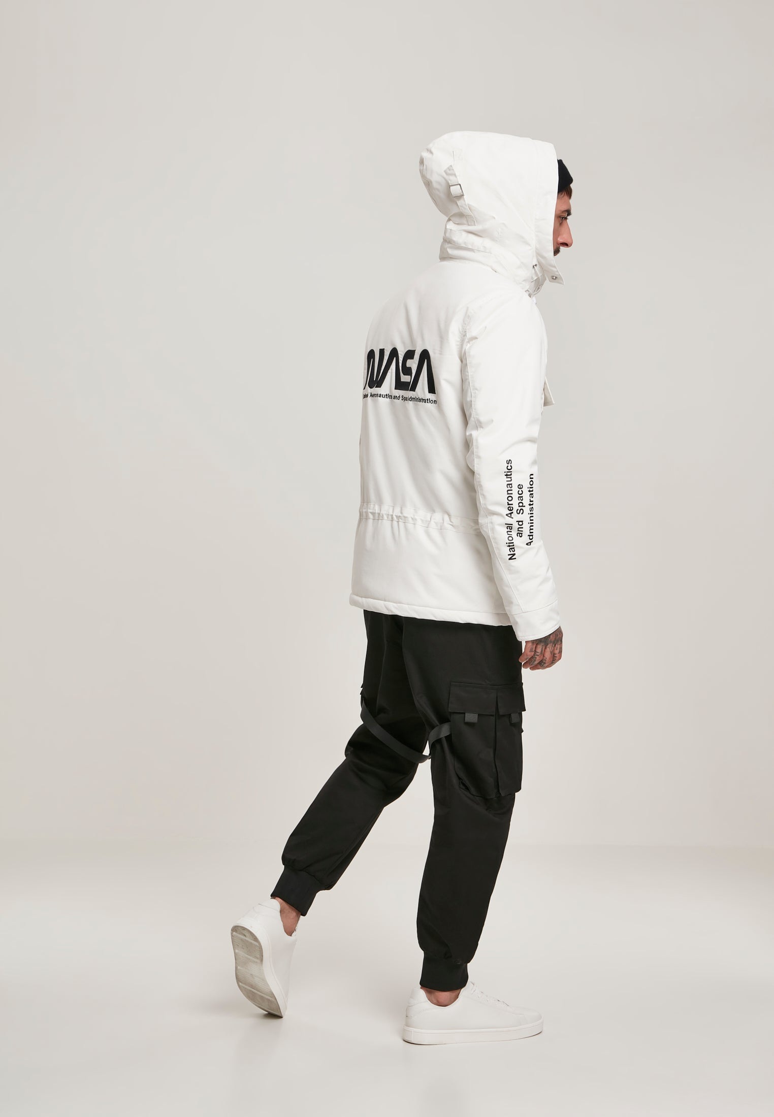 NASA Windbreaker (Grijs)