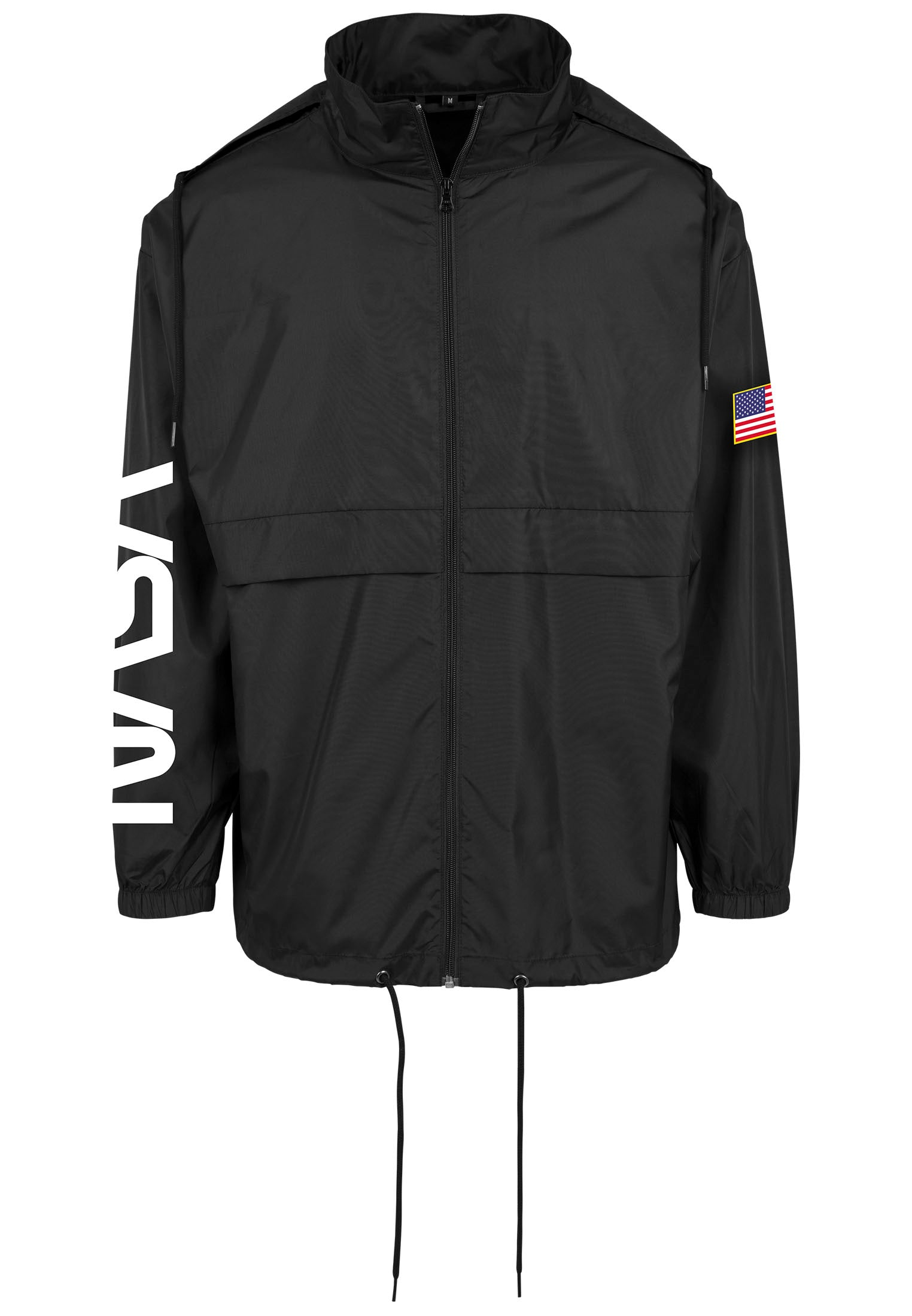 NASA Worm Logo Nylon Windbreaker