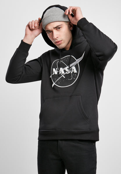 NASA Black-and-White Insignia Hoody