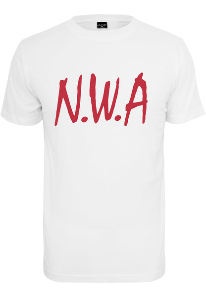 N.W.A Tee (Wit/Rood)