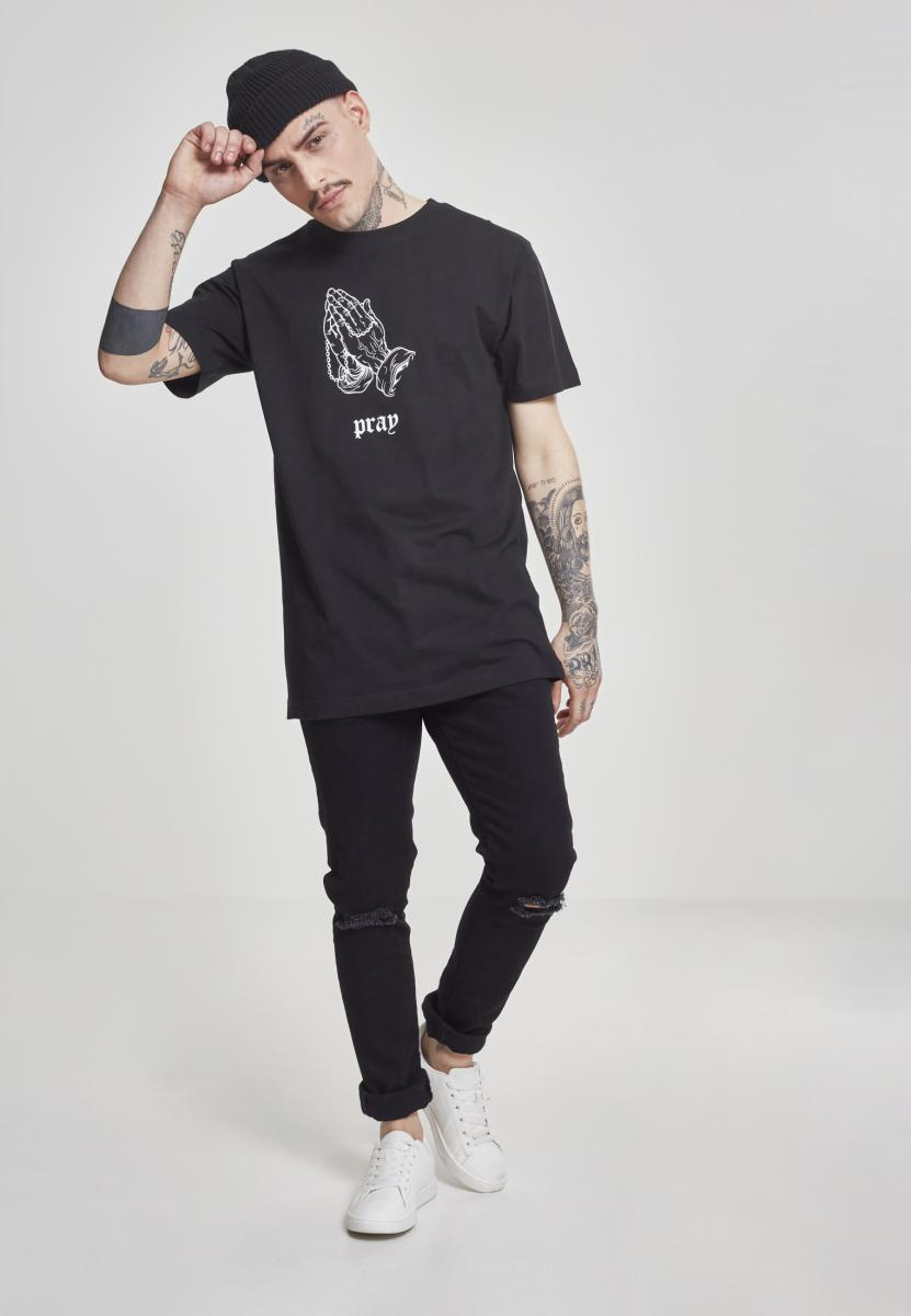 Dark Pray Tee (Zwart)
