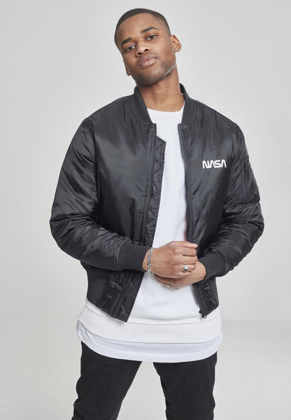 NASA Worm Logo Bomber Jacket
