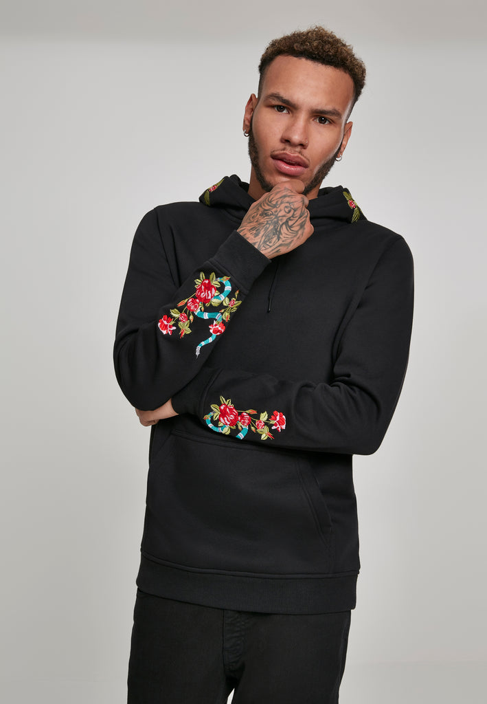 Flowers Embroidery Hoody
