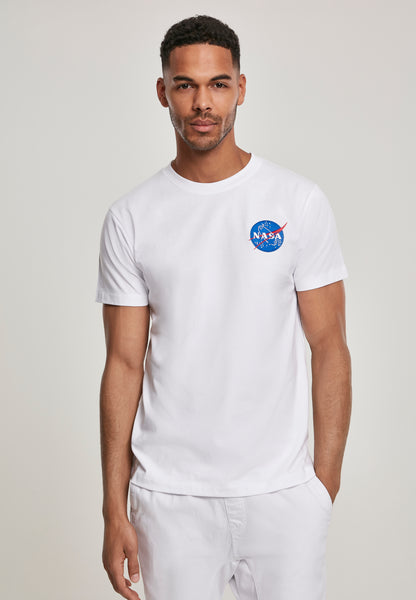 NASA Logo Embroidery Tee (Wit)