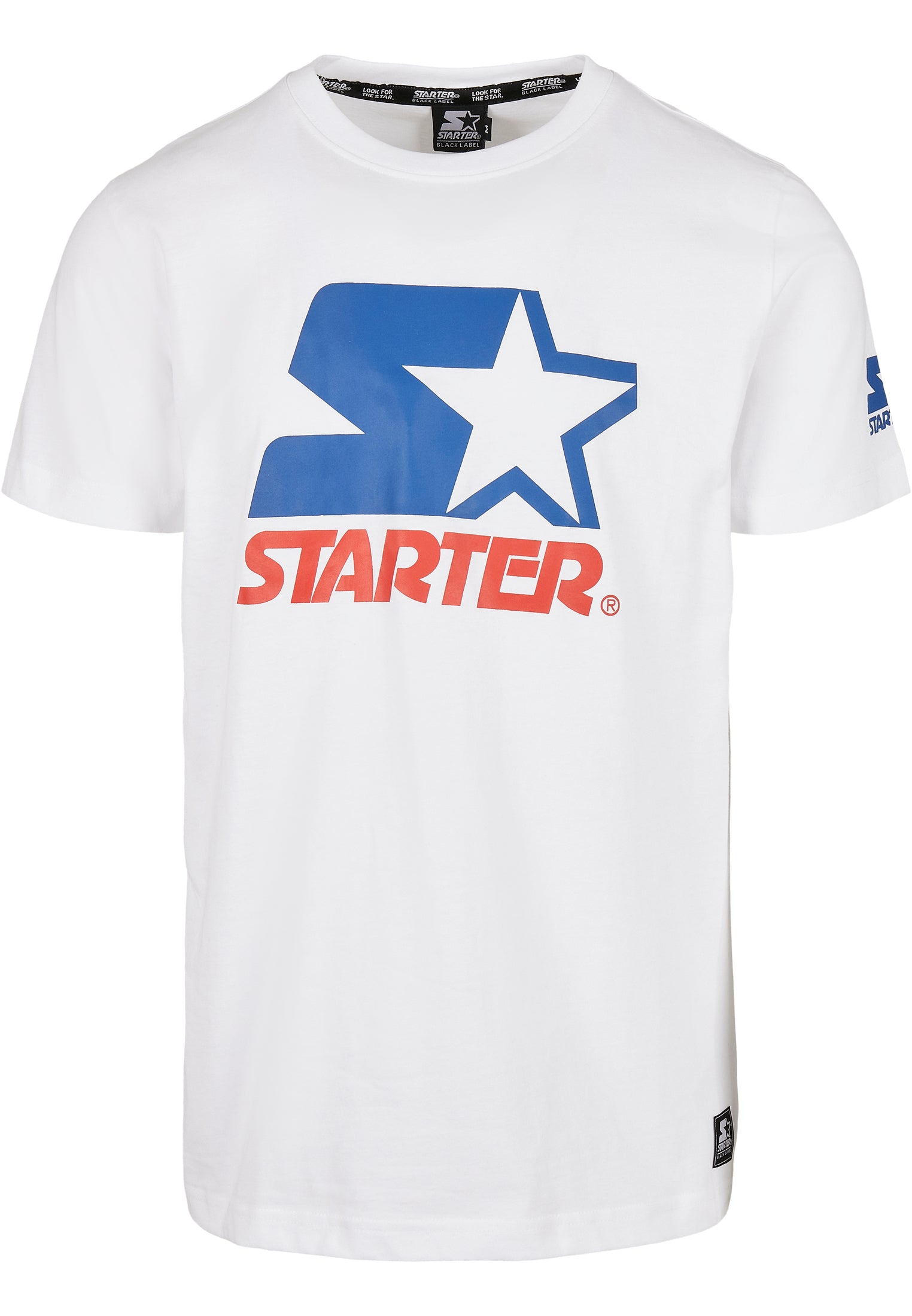 Starter Two Color Logo Tee (Wit)