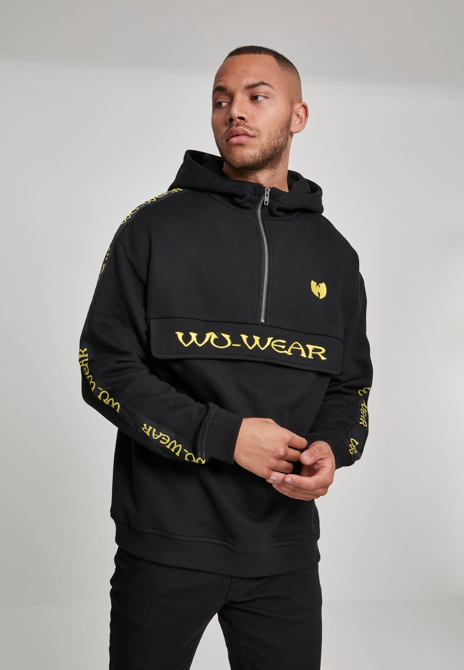 Wu-Wear Pull Over Hoody