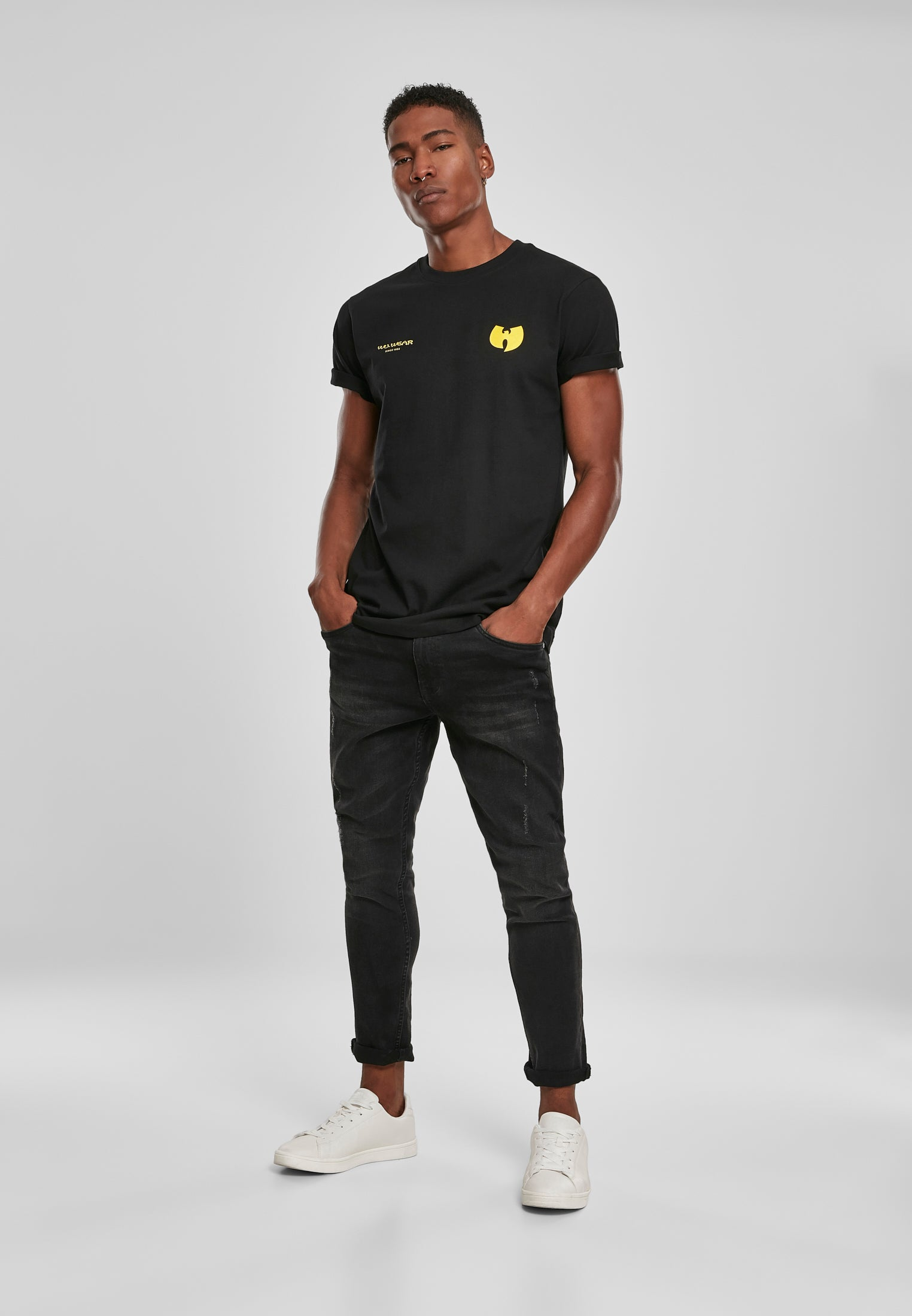Wu-Wear Multiple Logo Tee