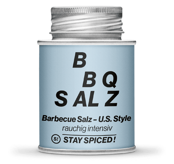 US-Style BBQ Salz, rauchig intensiv | STAY SPICED!