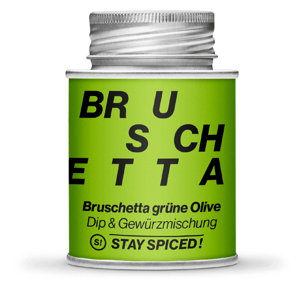 Bruschetta grüne Olive | STAY SPICED!