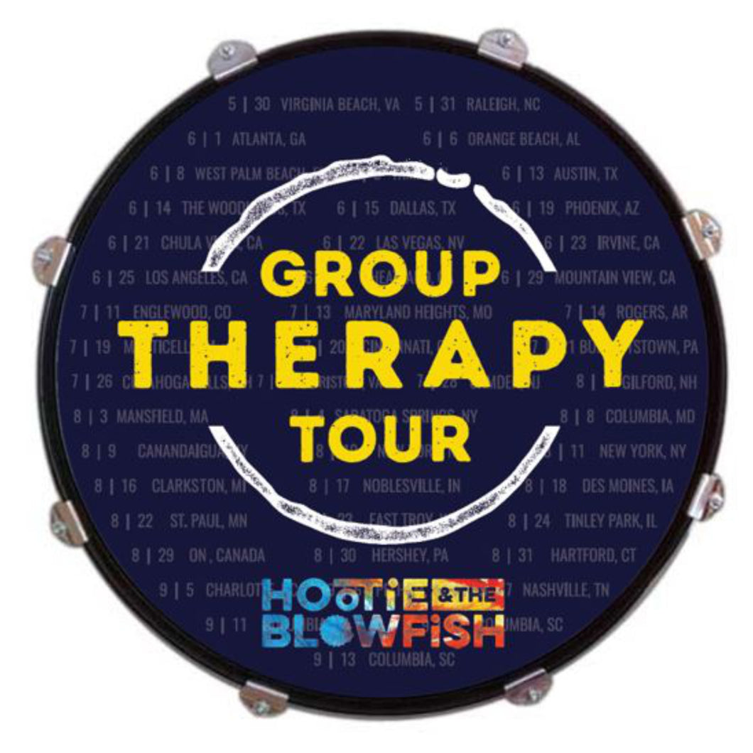 2019 Group Therapy Tour Drum Head