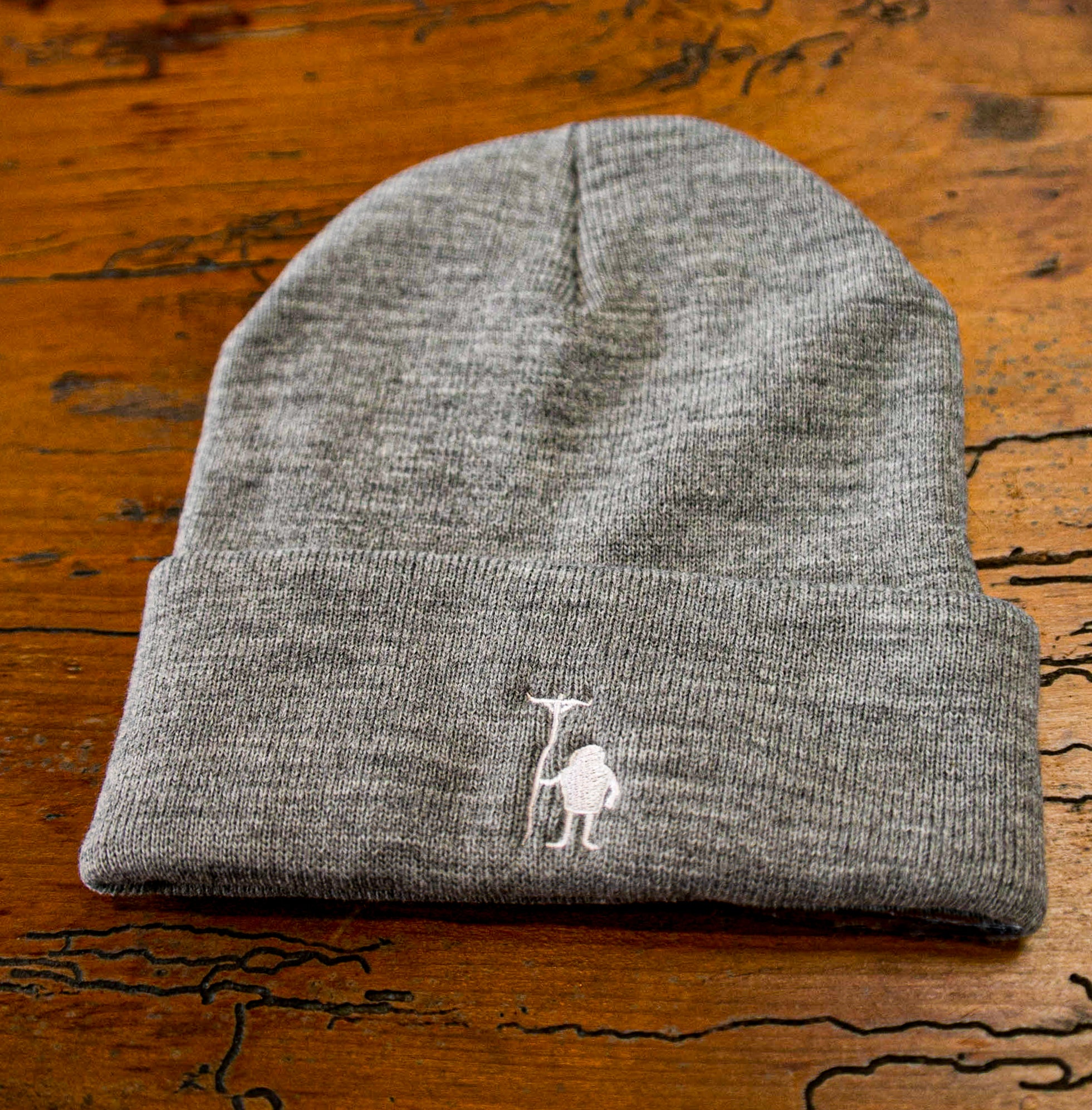 Medium Gray Beanie