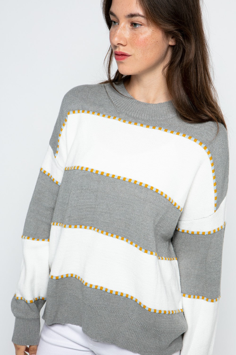 Courtney Sweater in Grey