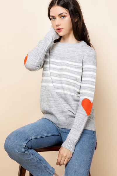 Love Sweater Grey