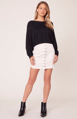 Hanna Sweater in Black
