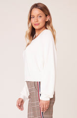 Hanna Sweater in Ivory
