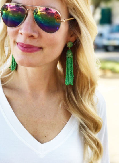 Frieda Tassel Earrings