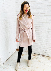 Samson Coat in Blush