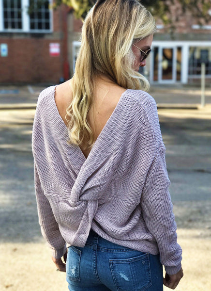Camille Sweater in Blush