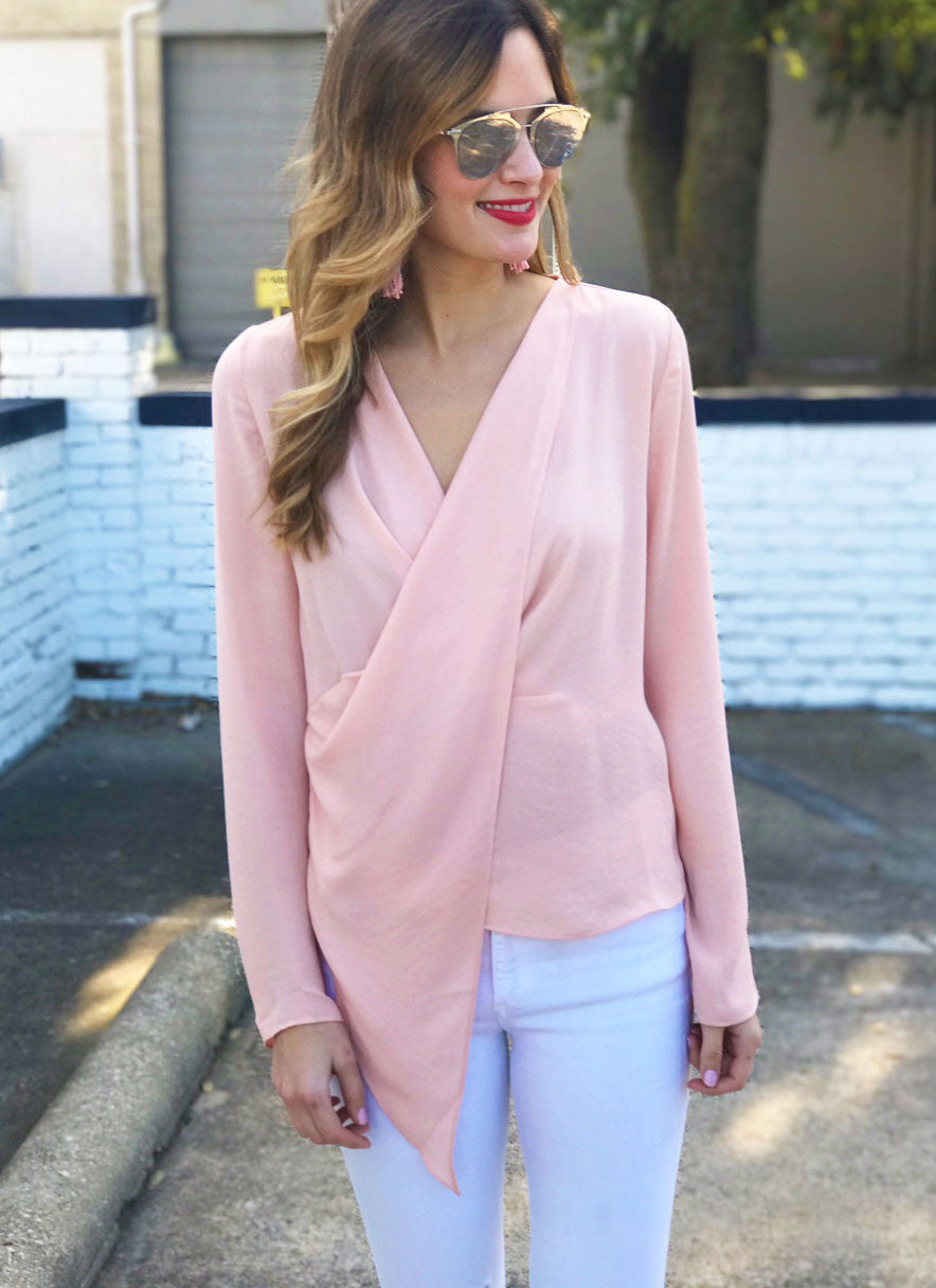 Kathleen Top in Blush