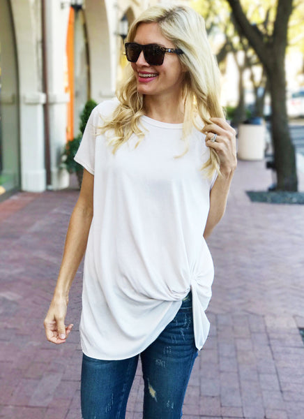 Hardy Top in Ivory