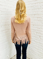Felicity Sweater in Blush