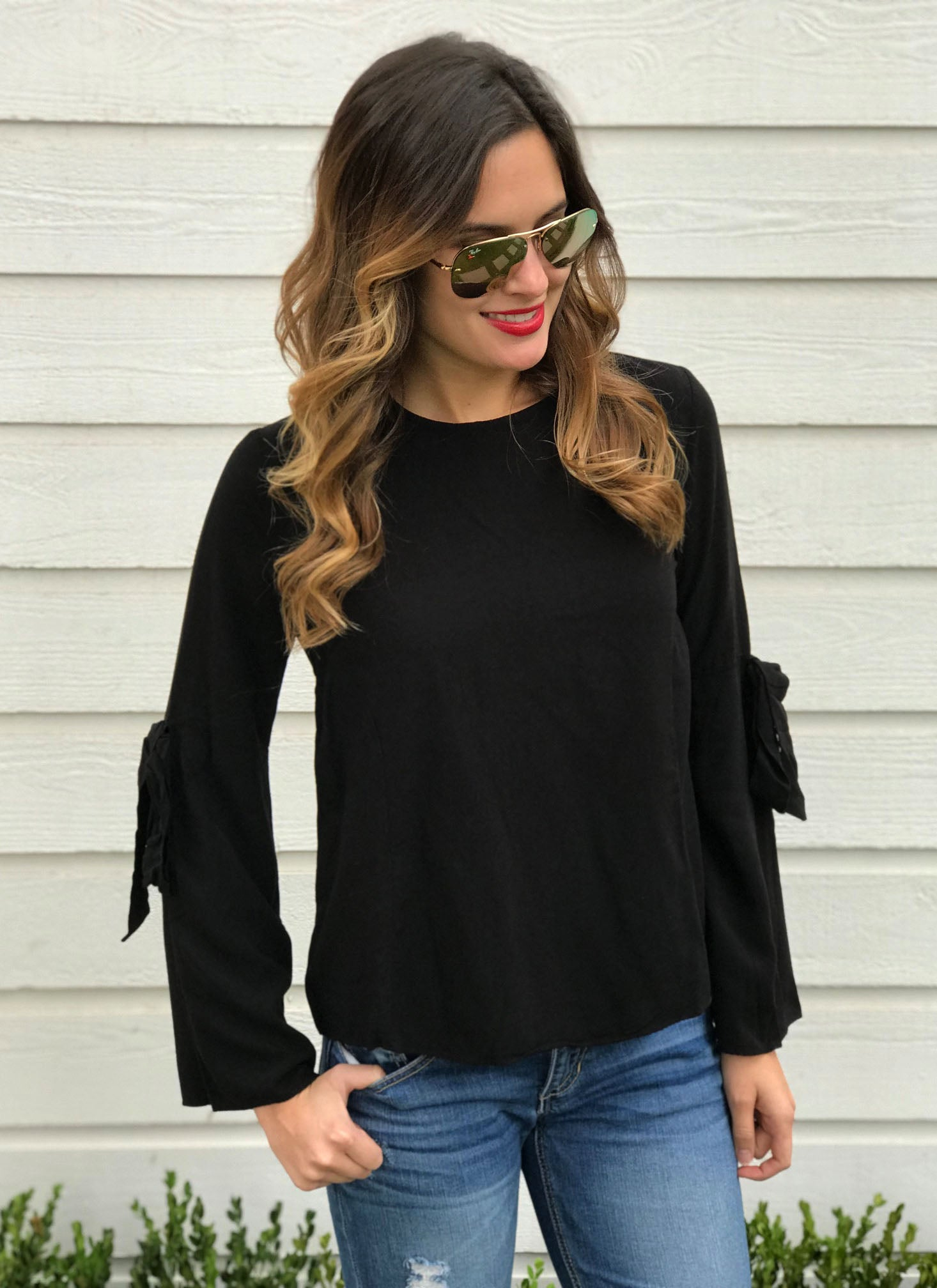 Mayra Top in Black