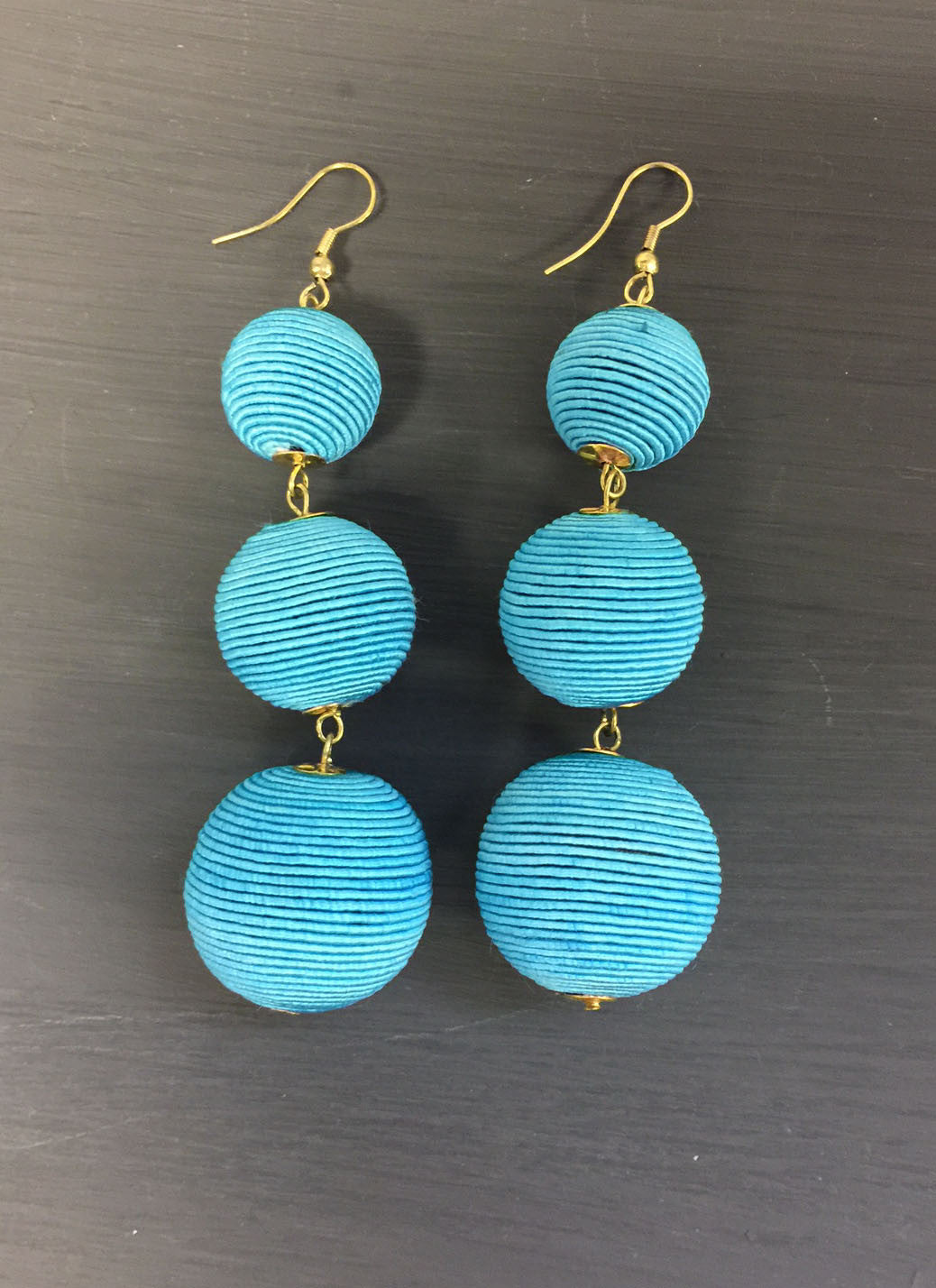Rebecca Three Drop Earrings