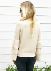 Kenzie Sweater in Natural