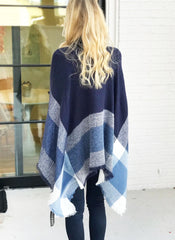 Isla Poncho in Navy