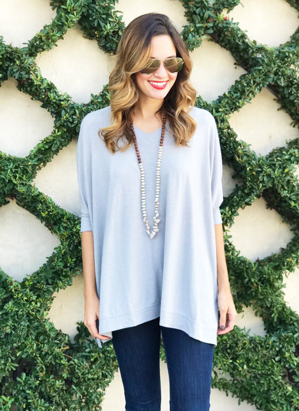 Whitley Top in Silver