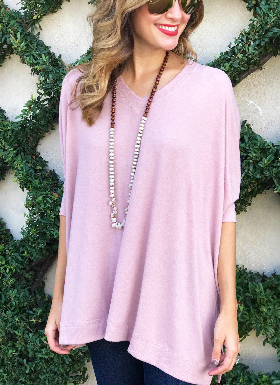 Whitley Top in Blush