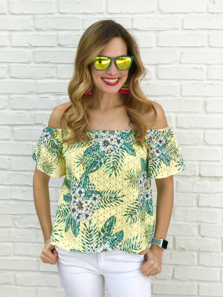 Kass Top in Citrus