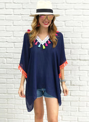 Grayson Tunic in Navy