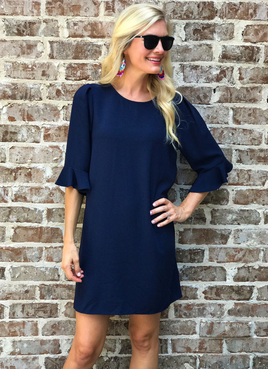 Dixon Dress in Navy