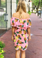 Minka Dress in Pink