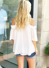 Diana Top in White