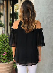 Diana Top in Black