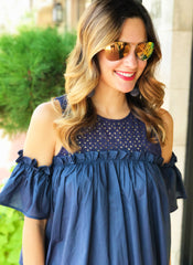 Meyer Top in Navy