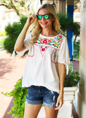 Minetta Top in White