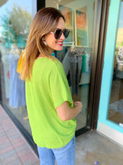 Sarah Top in Green