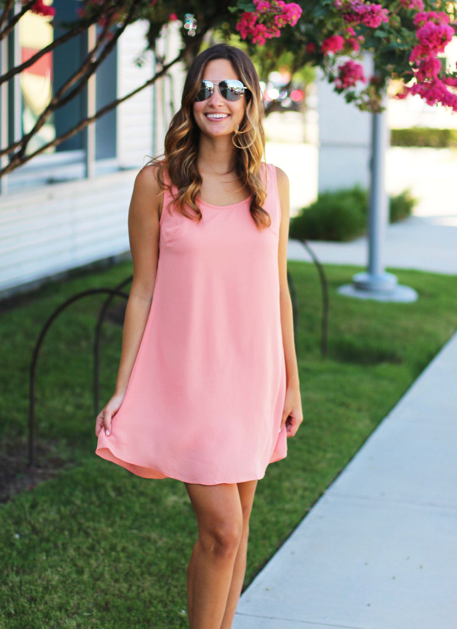 Peachie Dress