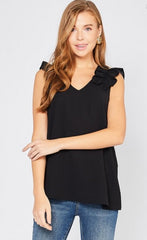 Ella Top in Black