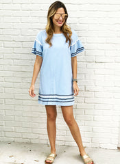 Hartman Dress in Blue