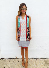 Zaxby Dress in Teal