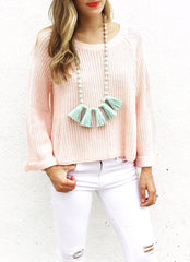 Smyth Sweater in Blush